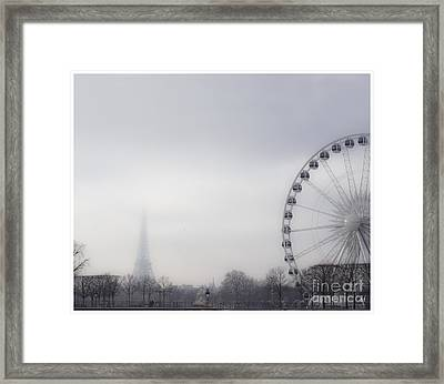 Framed Print featuring the photograph Fading Away by Victoria Harrington