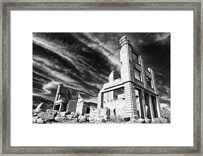 Fading Grandeur Framed Print by James Marvin Phelps