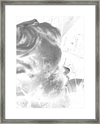 Framed Print featuring the photograph Fading Memories Of A Baby by Renee Trenholm