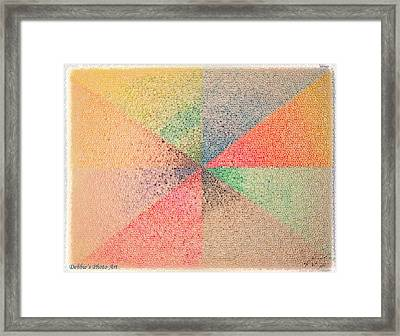 Fading Out Framed Print by Debbie Portwood