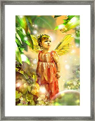 Faery Gazing Framed Print
