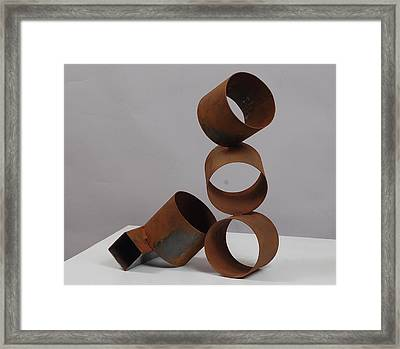 Faint Rhythm Framed Print by Mac Worthington