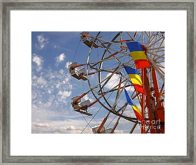 Fair Day Framed Print by Robert Frederick