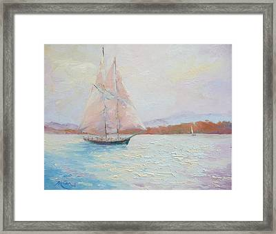 Fair Winds Framed Print by Marie Green