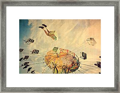Fairground Attraction Framed Print by Sally Anscombe