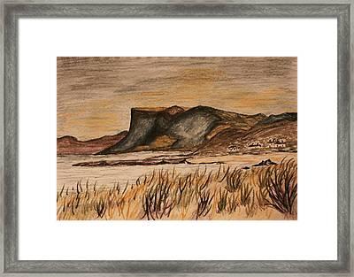 Fairhead  Ballycastle Framed Print by Paul Morgan