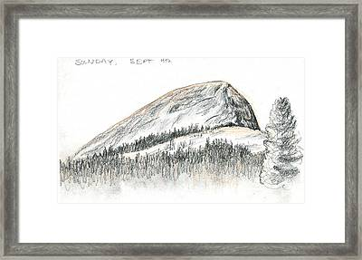 Fairview Dome Framed Print by Logan Parsons