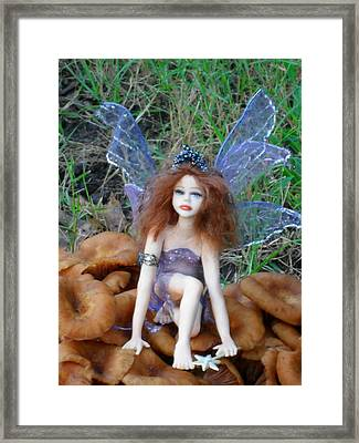Fairy Framed Print by Ginny Youngblood