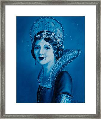 Fairy Godmother Framed Print by Eliza Furmansky