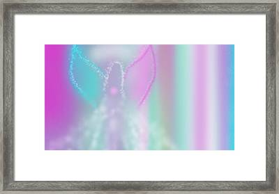 Fairy Grace Framed Print by Rosana Ortiz