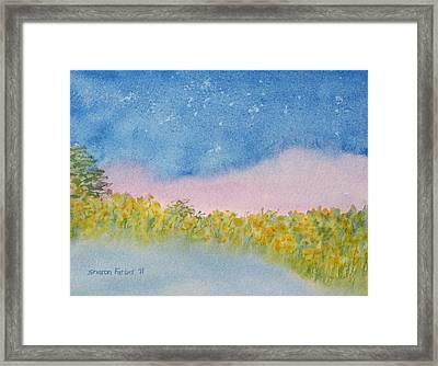 Fairy Mist Framed Print by Sharon Farber