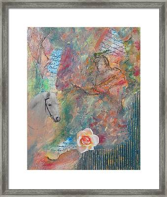 Fairy Tales Framed Print by Terry Cullen