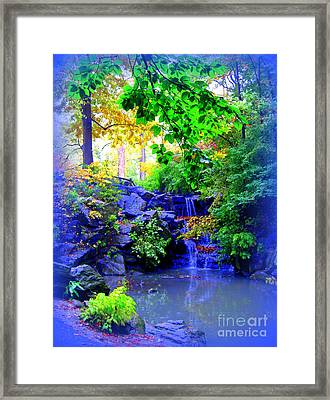 Fairyland Framed Print by Maria Scarfone