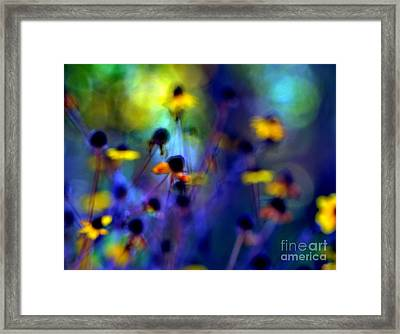 Fairyland Painting Framed Print by Andrea Kollo