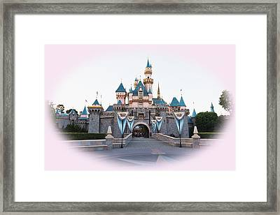 Fairytale Castle Framed Print by Heidi Smith