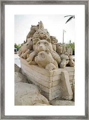 Fairytale Sand Sculpture  Framed Print
