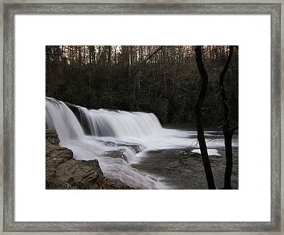 Faith Overflowing Framed Print by Victoria Ashley