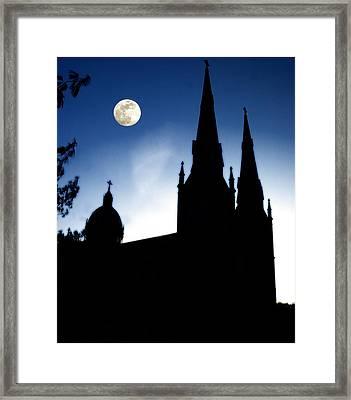 Framed Print featuring the photograph Faith by Raymond Earley