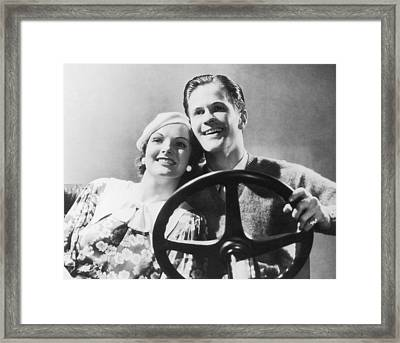 Faking It Framed Print by Fpg