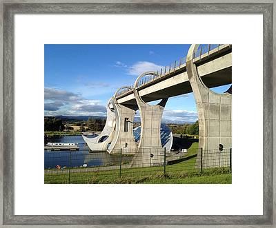 Falkirk Wheel Framed Print by Michael McKenzie
