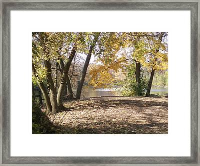 Fall At Graue Mill Framed Print by Elizabeth MacKinney