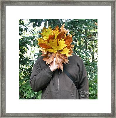 Fall Framed Print by Bill Thomson