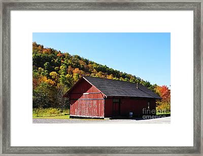 Fall Color Pickens West Virginia Framed Print by Thomas R Fletcher