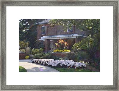 Framed Print featuring the photograph Fall Cowles by Joseph Yarbrough