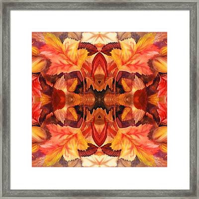 Fall Decor Framed Print