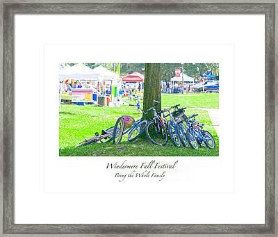 Fall Festival Framed Print
