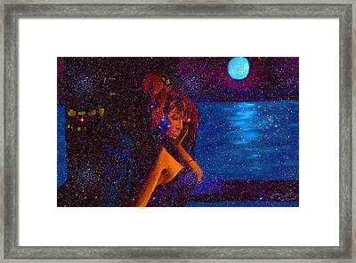 Fall For You Framed Print by Kenal Louis