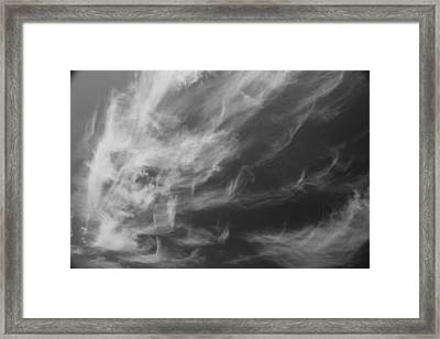 Fall From Earth Framed Print
