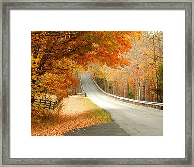 Framed Print featuring the photograph Fall In Kentucky by Sylvia Hart