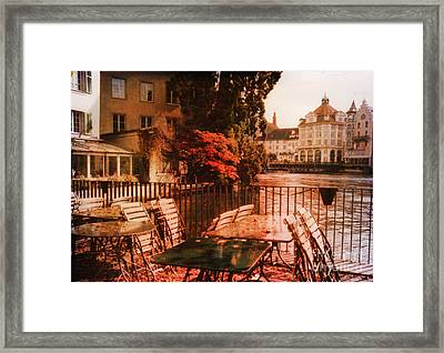 Fall In Lucerne Switzerland Framed Print