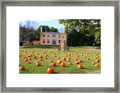 Fall In Maine Framed Print
