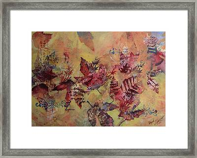 Fall Maples Framed Print by David Ignaszewski