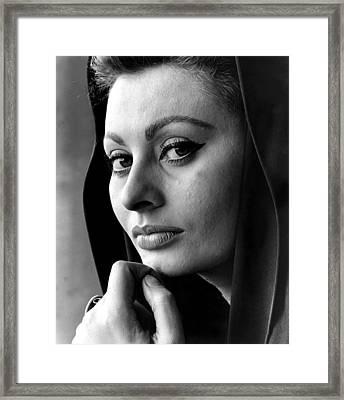 Fall Of The Roman Empire, Sophia Loren Framed Print