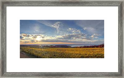 Fall On Old Mission Peninsula Framed Print