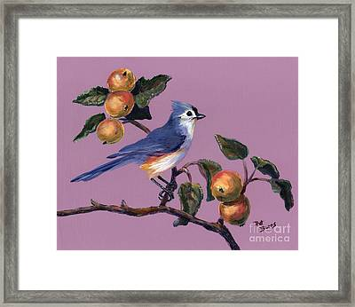 Framed Print featuring the painting Fall by Pat Burns