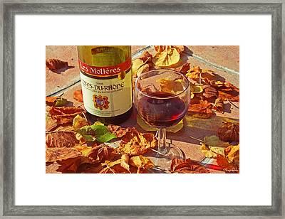 Fall Pleasures Framed Print by Georgia Fowler