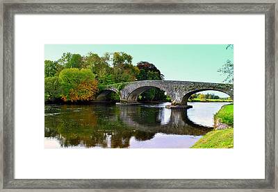 Fall Reflected. Framed Print