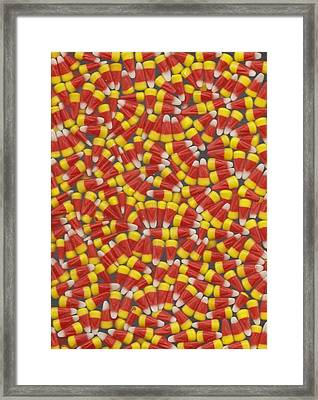 Fall Treat Framed Print by Mary Ann Southern