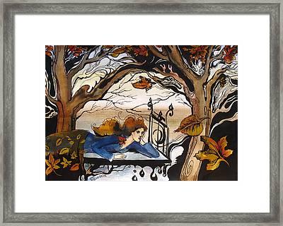 Fall Framed Print by Valentina Plishchina