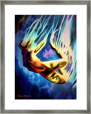 Fallen Angel Framed Print by Stevn Dutton