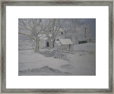 Fallen Beauty Framed Print by Andy Davis
