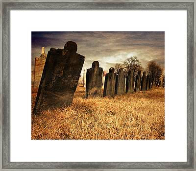 Fallen Comrades Of The Civil War Framed Print by Paul Ward