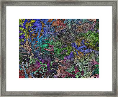 Fallen For Fall Framed Print by Tim Allen
