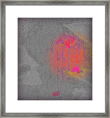 Fallen Framed Print by Wendy Wiese