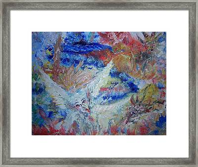 Falling From Grace Framed Print by Fawn Whelahan
