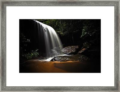 Falling Light Framed Print